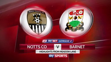 Notts Co 4-2 Barnet