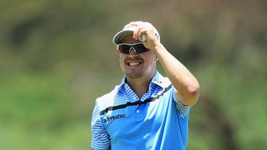 Christiaan Basson opened with a bogey-free 64