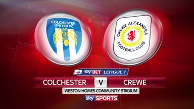 Colchester 2-3 Crewe