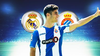 Marco Asensio has impressed on loan at Espanyol (source: @marcoasensio10)
