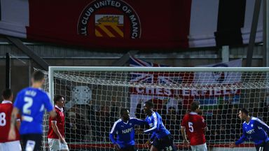 Gboly Ariyibi scores for Chesterfield