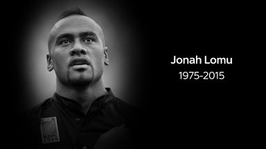 Jonah Lomu passed away at the age of 40 last Wednesday