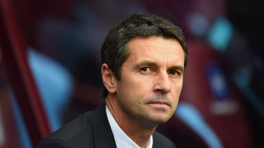 Manager of Aston Villa, Remi Garde, is looking for his first win as manager