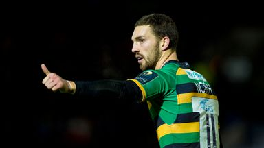 George North will remain a Saints player