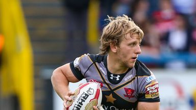 Logan Tomkins played 15 times for Salford last season