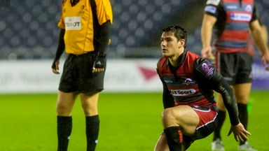 Sam Hidalgo-Clyne starts at scrum-half for Edinburgh