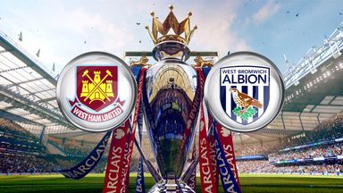 West Ham host West Brom on Super Sunday, live on Sky Sports 1 HD from 1pm