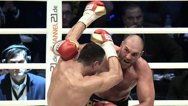 Tyson Fury is not willing to defend his newly-won belts against David Haye