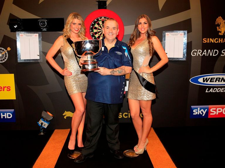 grand slam of darts results latest