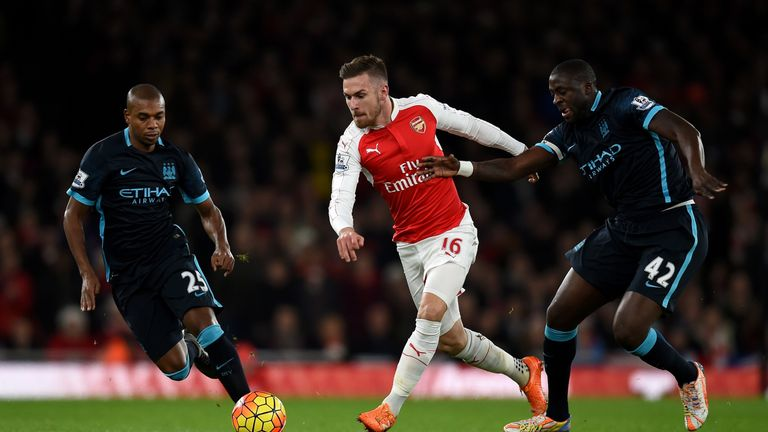 Aaron Ramsey is the Premier League's top passer