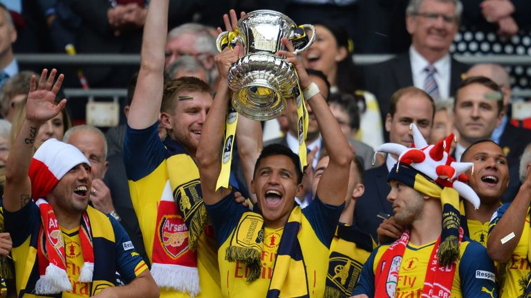 Arsenal have won the FA Cup for the last two seasons
