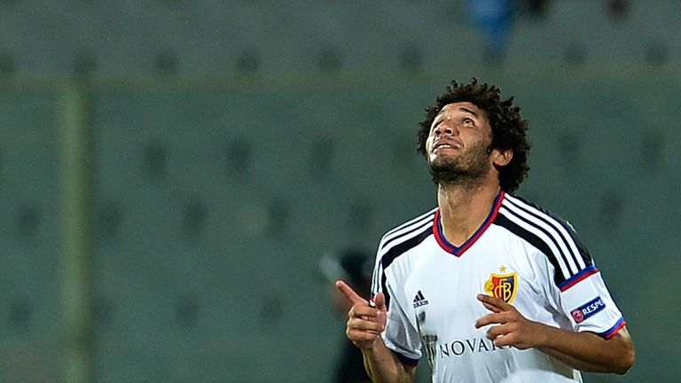 Elneny helped Basel reach the Champions League