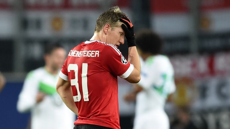 Schweinsteiger has been out since the beginning of January with a knee injury