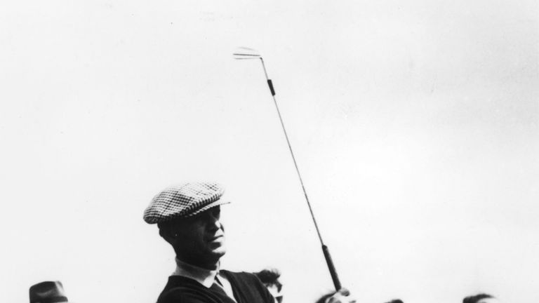 Ben Hogan won his fourth US Open at Oakmont in 1953, and remains the only golfer to win the Masters, US Open and Open Championship in the same year