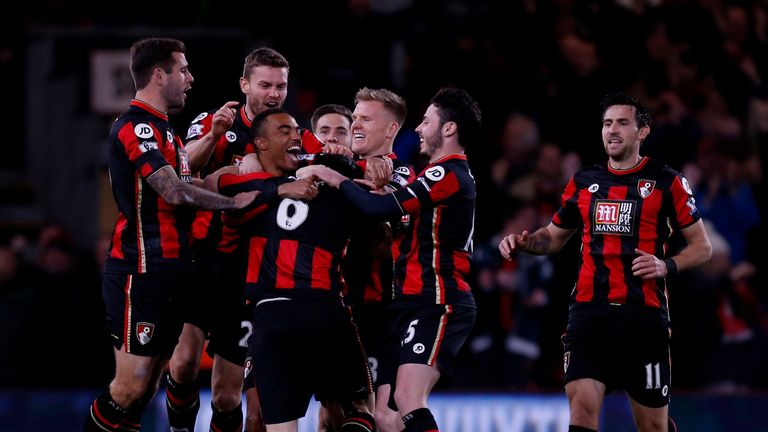 Bournemouth face West Brom on the back of wins over Chelsea and Man Utd