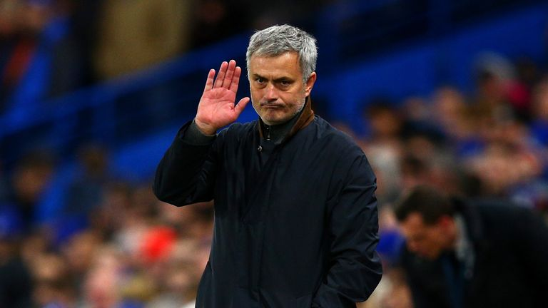 Jose Mourinho left Chelsea for a second time in December