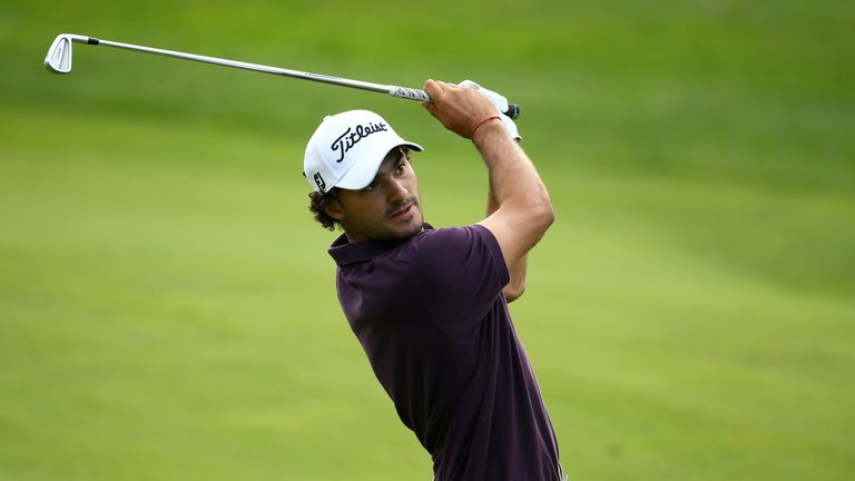 Clement Sordet could not keep pace with Donaldson on the final day