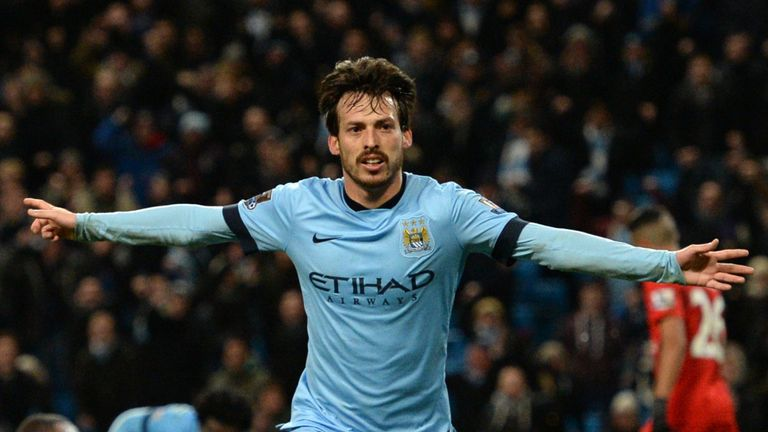 David Silva remains a creative force for Manuel Pellegrini