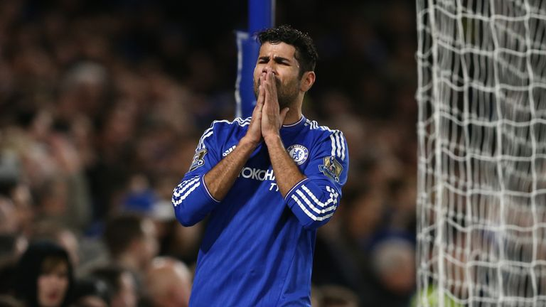Diego Costa has endured a difficult season at Stamford Bridge