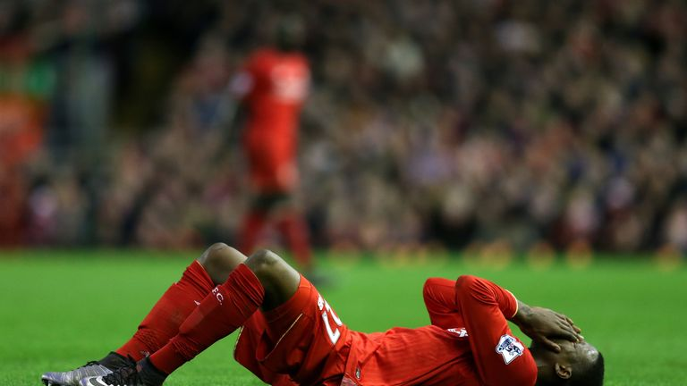 Divock Origi is one of a number of Liverpool players out with hamstring trouble