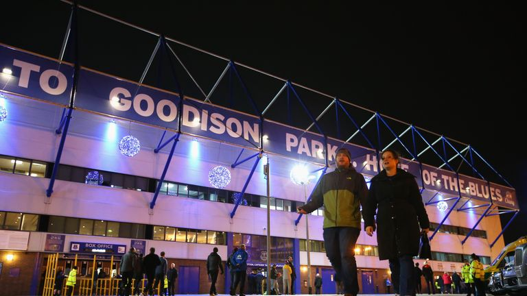 Goodison Park has seen the most goals in the Premier League this season