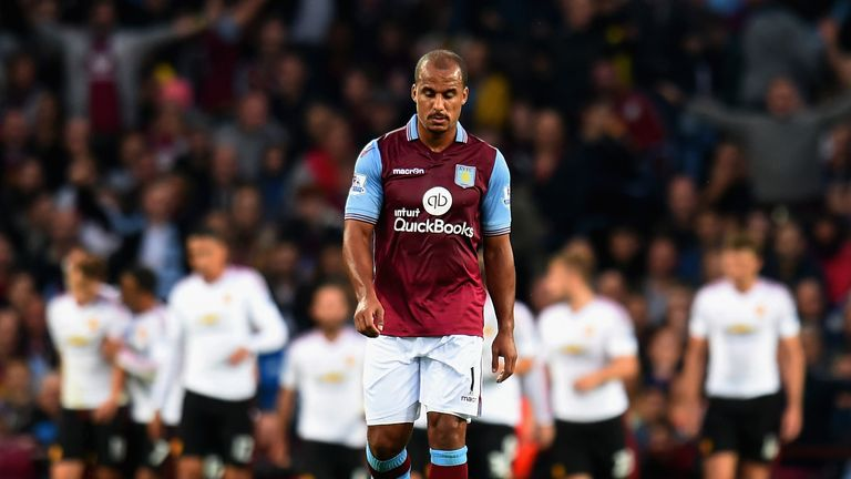 Garde was coy on the future of club captain Gabriel Agbonlahor
