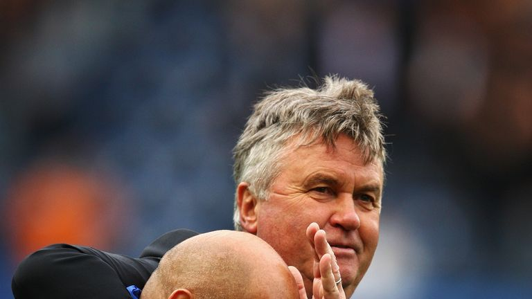 Ray Wilkins worked under Guus Hiddink when he was in temporary charge in 2009
