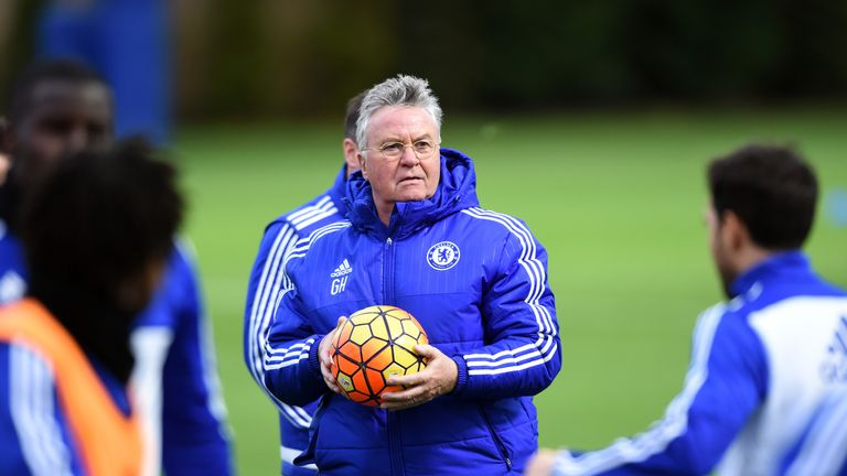 Guus Hiddink has been appointed until the end of the season