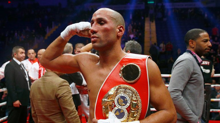 James DeGale defends his IBF crown against big-hitting Mexican Rogelio Medina at the weekend live on Sky Sports
