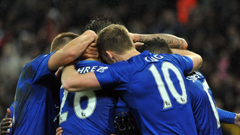 Leicester amassed 15 more points in the second half of 2014/15 than they did in the first half