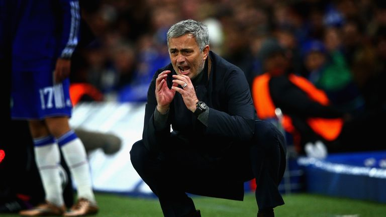 Jose Mourinho lost his job at Stamford Bridge in December