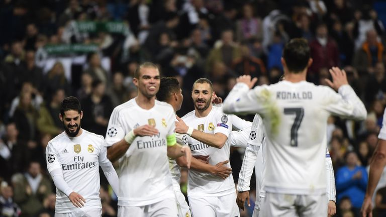 Karim Benzema was first to get on the scoresheet for Real