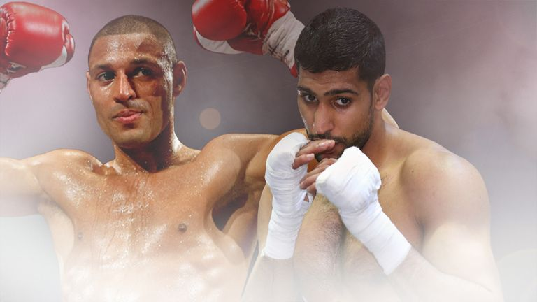 Kell Brook and Amir Khan may soon trade blows rather than insults