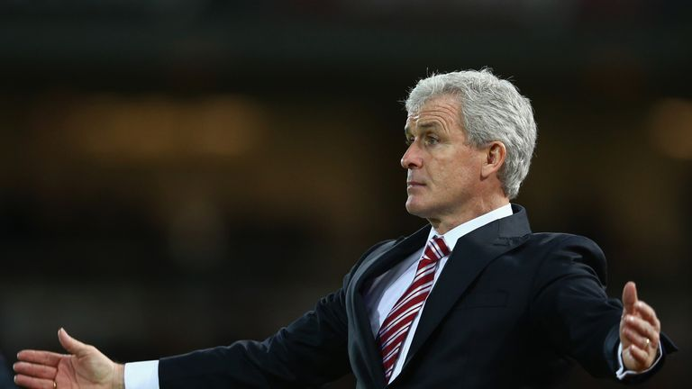 Mark Hughes is taking his players away for a week away