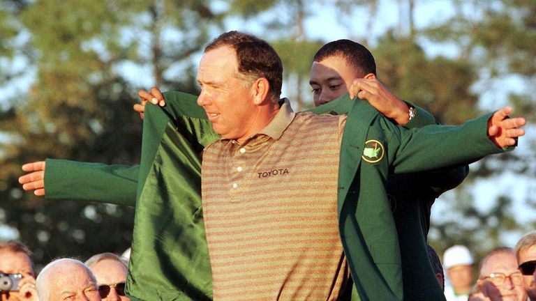 Mark O'Meara won the first of his two majors during 1998 at Augusta