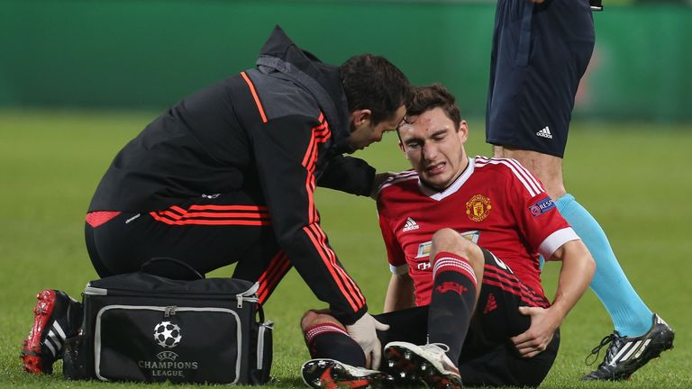 Darmian recently spent almost a month out with a hamstring problem