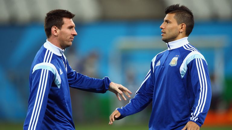 Aguero says he has spoken to Lionel Messi about the positives of Manchester
