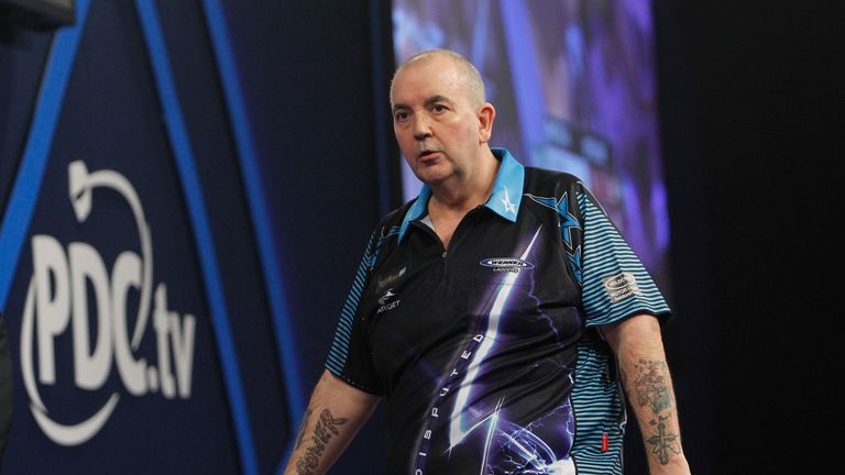 Phil Taylor failed to win a major title in 2015