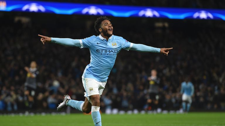 Sterling has 11 goals in 41 appearances since his move to City