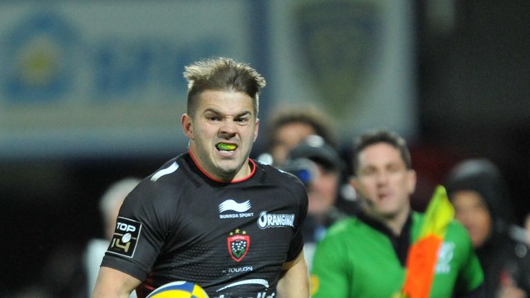 Toulon winger Drew Mitchell has scored three tries in two games