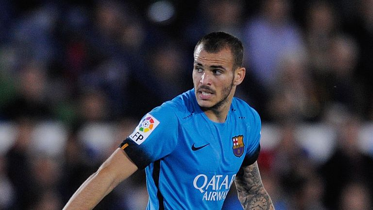 Sandro left Barcelona in 2016