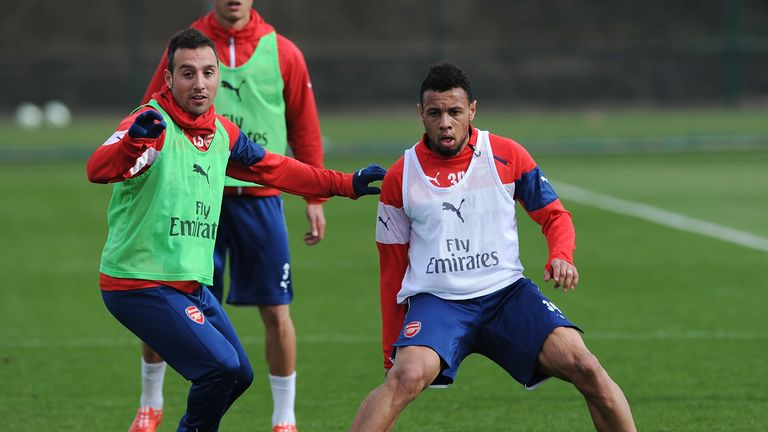 Santi Cazorla and Francis Coquelin are doing well in their recoveries from injury