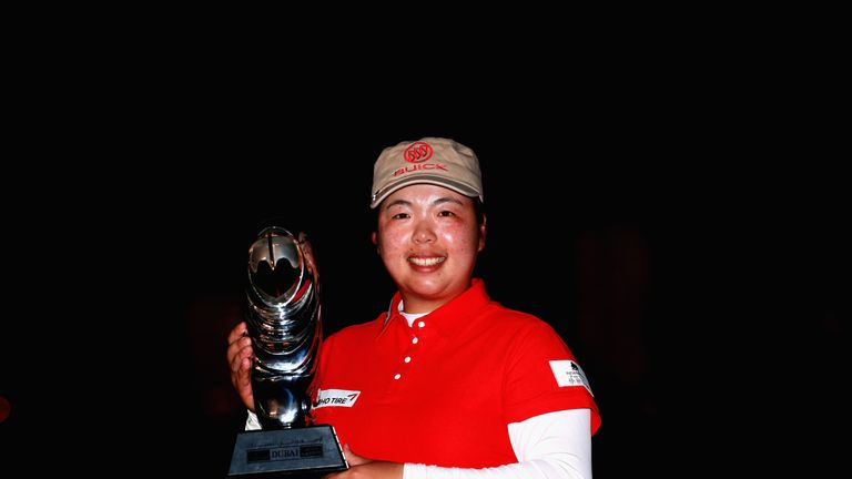 Order of Merit winner Shanshan Feng is back as defending champion