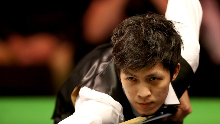 Thepchaiya Un-Nooh missed a 147 at the UK Championship