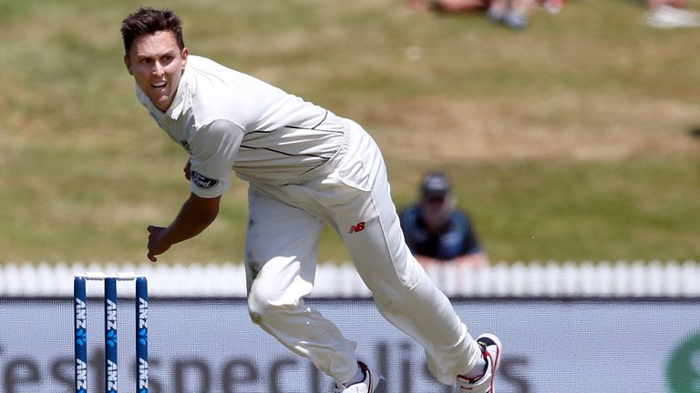 Trent Boult  suffered upper leg soreness in the opening South Africa Test