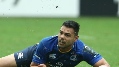 Ben Te'o in action for Leinster