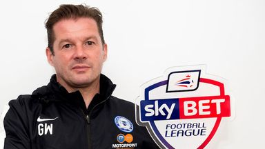 Graham Westley: Brings Mark Tyler back to Peterborough