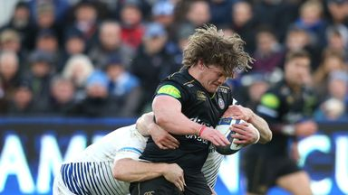Nick Auterac in action for Bath against Leinster last month