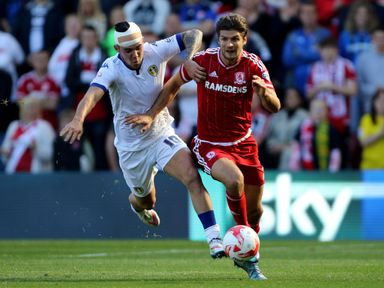 Middlesbrough's George Friend will be assessed for Saturday's winner-takes-all game with Brighton