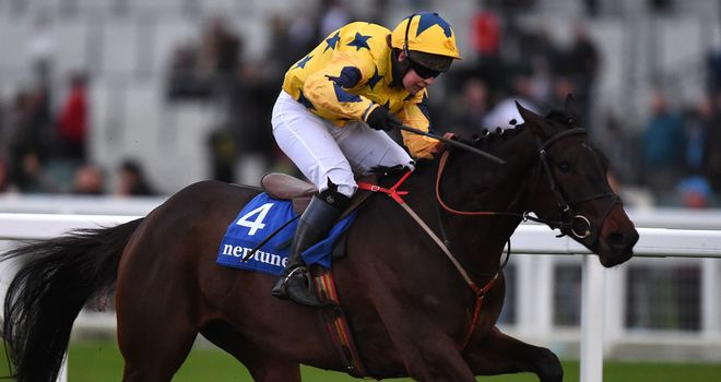 Coeur Blimey in winning form under Lucy Gardner at Ascot last season.